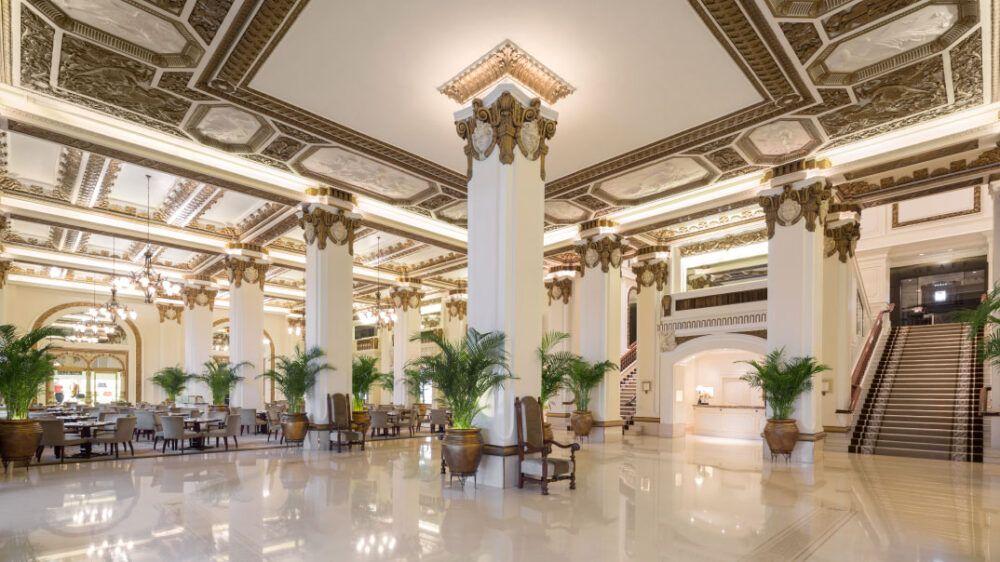 The Lobby at The Peninsula Hong Kong