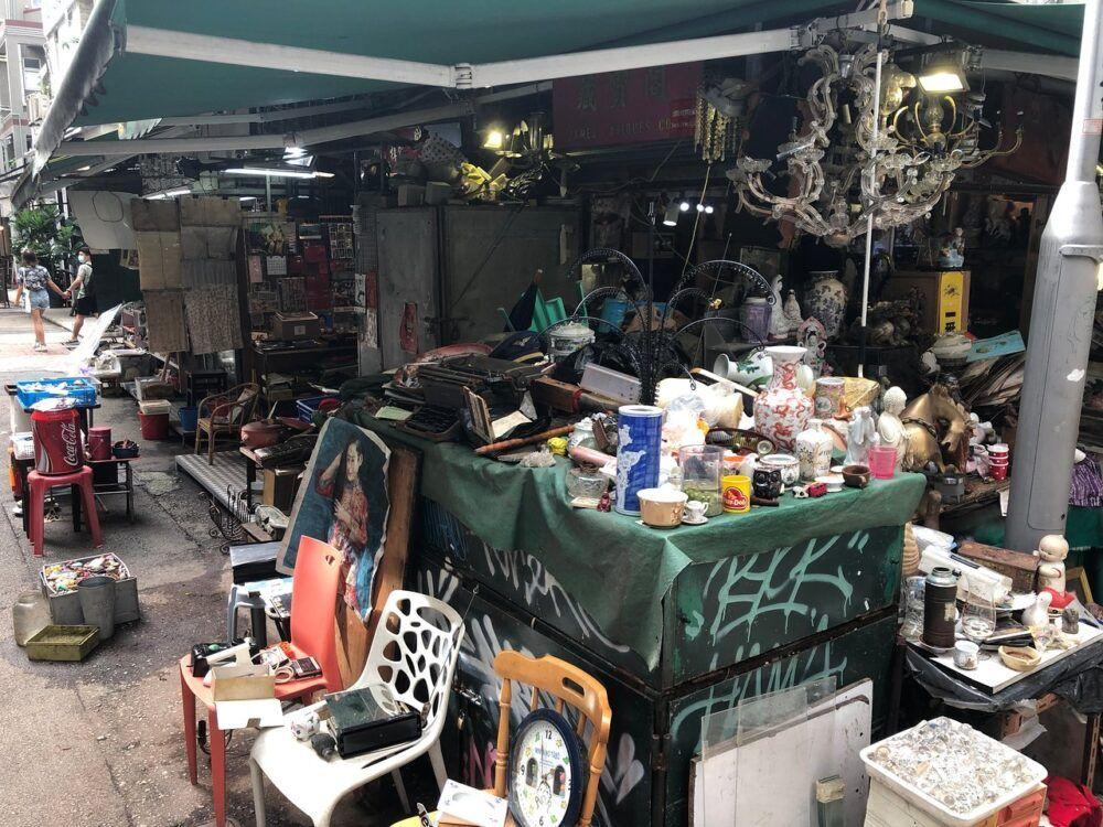 Trouvez des vols d'antiquités au marché de Cat Street