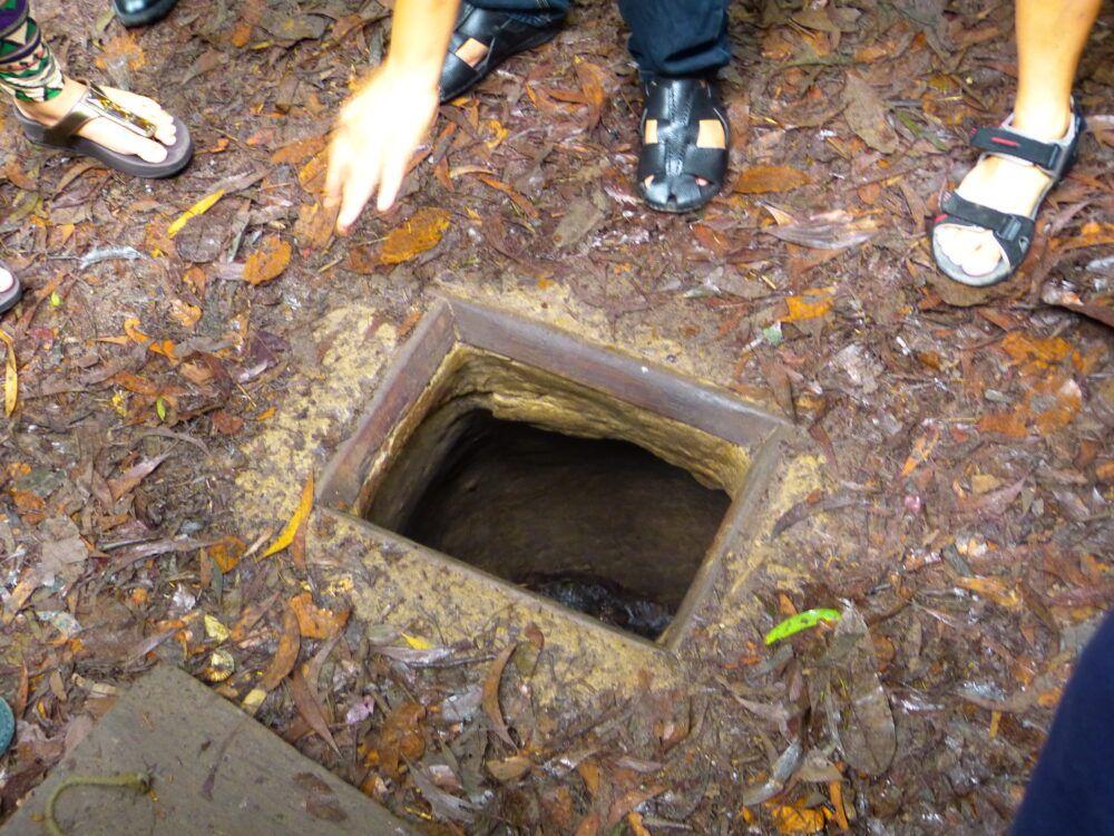 Tunnels de Cu Chi Nettoyés pour les touristes