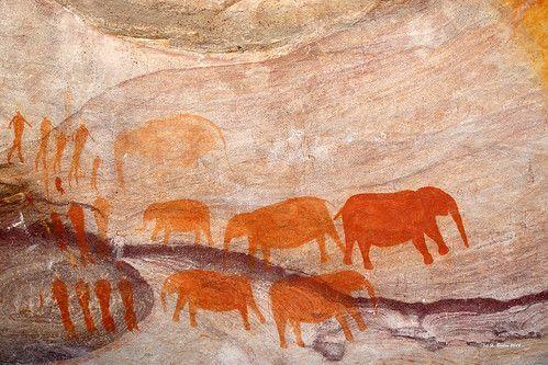 Visite de la grotte des éléphants