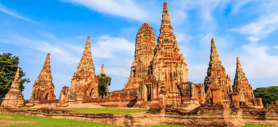 Visite des temples de Thaïlande
