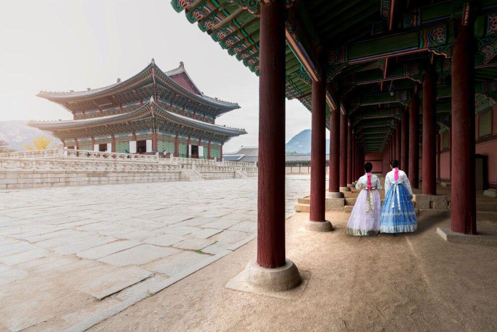 Visite du palais de Gyeongbokgung