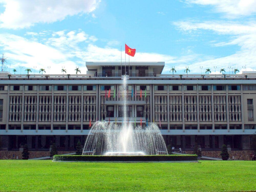 Visitez le Palais de la Réunification