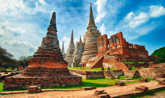 Visitez le plus grand temple d'Ayutthaya