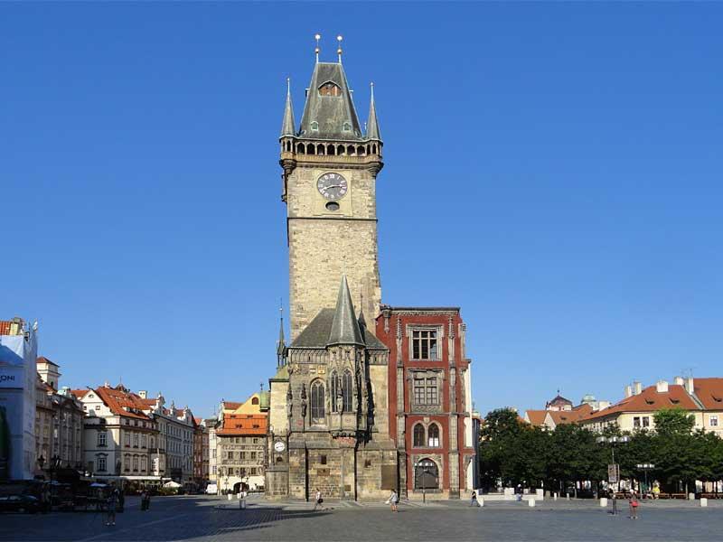 Voir la tour de l'horloge