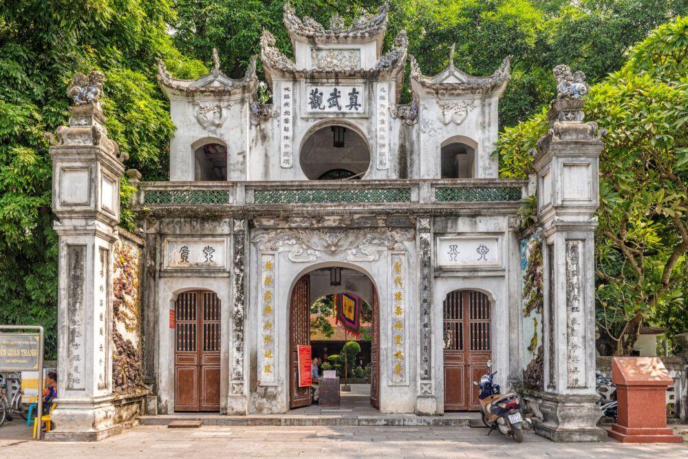 Voir les quatre temples sacrés de Hanoi