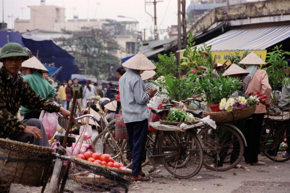 La ville de Hanoi, au Vietnam, reste occupée 1