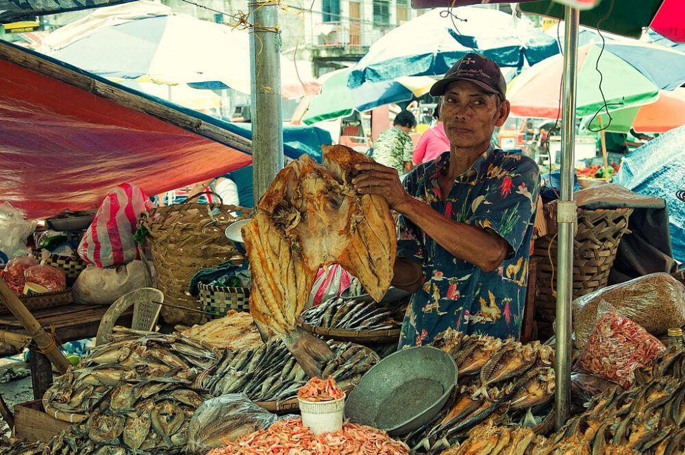 marché central de Iloilo